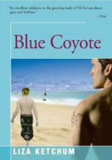 Blue Coyote by Liza Ketchum