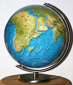Could you imagine your favorite book locale on a globe? Christian Fischer [CC BY-SA 3.0 (http://creativecommons.org/licenses/by-sa/3.0)], via Wikimedia Commons