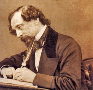 From newspaper serialized fiction to literary stardom: Charles Dickens See page for author [Public domain], via Wikimedia Commons