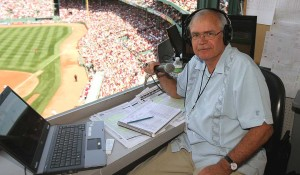 "We know him as the voice of the Red Sox. Colgate University knows him as ""class of '68."""