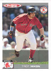 Trot's wife deserved her own baseball card after 2004, too, raising money for reading programs!