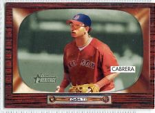 "Because ""O-Cab"" was acquired at the July 31 trade deadline from Montreal, few cards exist of him from that year depict him in a Red Sox uniform."