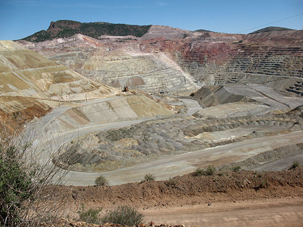 Copper mine in Arizona